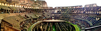 The Colosseum panorama