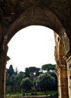Arch view, Rome