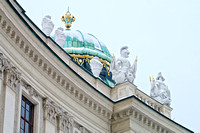 Hofburg Palace roof detail, Vienna