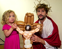Simon Corfield as Jesus with Ruby and balloon Jesus 3