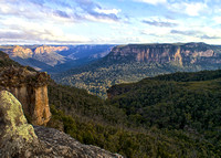 Blue Mountains Sunlight