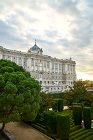 Palacio Real and Plaza de Oriente, Madrid, Spain 03