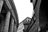 Vatican, Architectural Contrasts