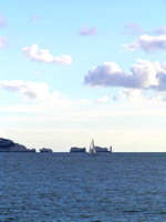 The Needles from Milford on Sea