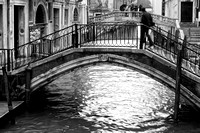 Venice, canal and bridges