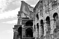 The Colosseum facade