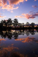 Williams River Sunset Reflections 1