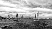 Sydney Harbour race to the finish