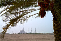 Abi Dhabi Grand Mosque from a Distance