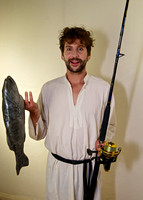 Simon Corfield as Jesus 'Gone Fishing' 1
