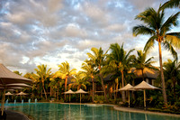 Family Pool, Intercontinental Resort, Natadola Beach, Viti Levu, Fiji